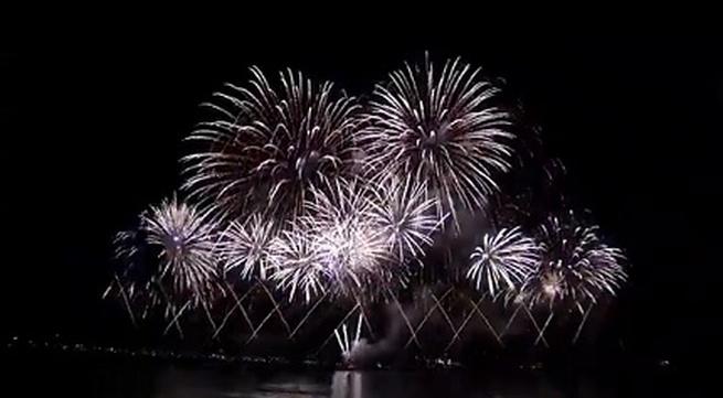 Màn trình diễn pháo hoa giành giải vô địch thế giới